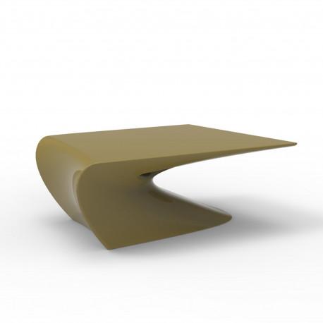Table Basse Design Wing Vondom Kaki Mat