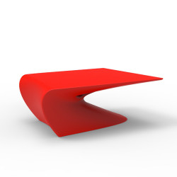 Table basse design Wing, Vondom Rouge Mat