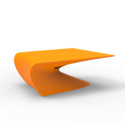 Table basse design Wing, Vondom Orange Mat