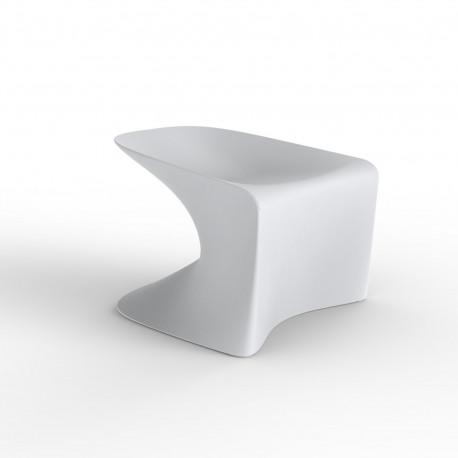 Tabouret Bas Wing, Vondom Blanc Mat