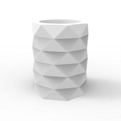 Pot de Jardin Marquis diamètre 80 cm x hauteur 100 cm, Vondom blanc Mat