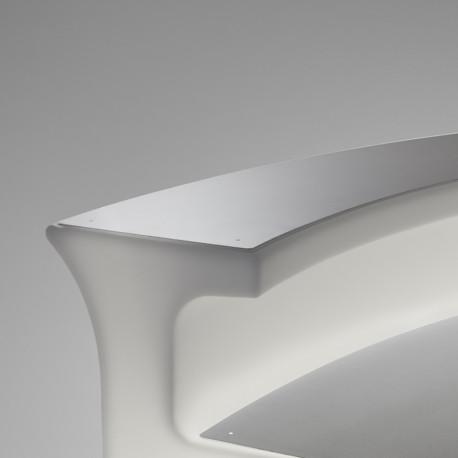 tablette top inox pour break bar slide design cerise sur la deco. Black Bedroom Furniture Sets. Home Design Ideas