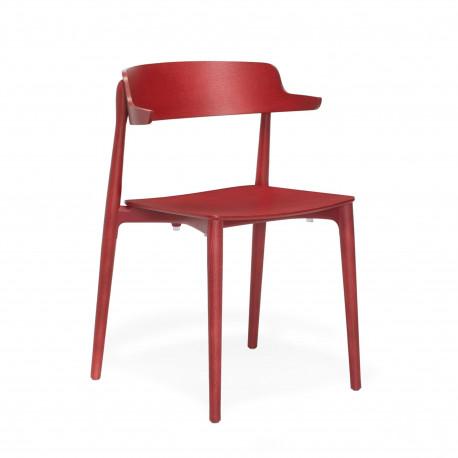Teinté Lot 2825PedraliFrêne Rouge Design 2 Chaises Nemea De Bois 5RjAL4