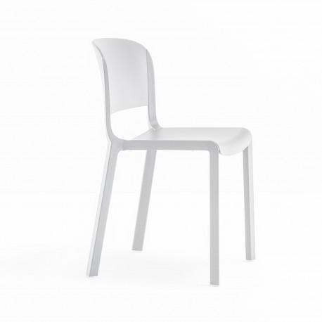 Chaise bistrot design, Dome 260, Pedrali, Blanc
