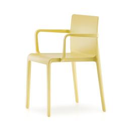 Chaise avec accoudoirs Volt 675, Pedrali, jaune