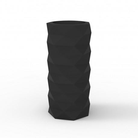 Pot de Jardin Marquis diamètre 25 cm, Vondom Noir Mat