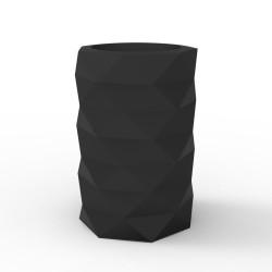 Pot de Jardin Marquis diamètre 40 cm x hauteur 60 cm, Vondom Noir Mat