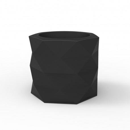 Pot de Jardin Marquis diamètre 60 cm, Vondom Noir Mat