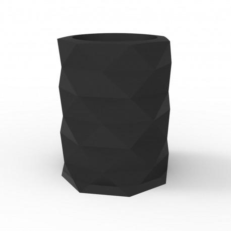 Pot de Jardin Marquis diamètre 80 cm, Vondom Noir Mat