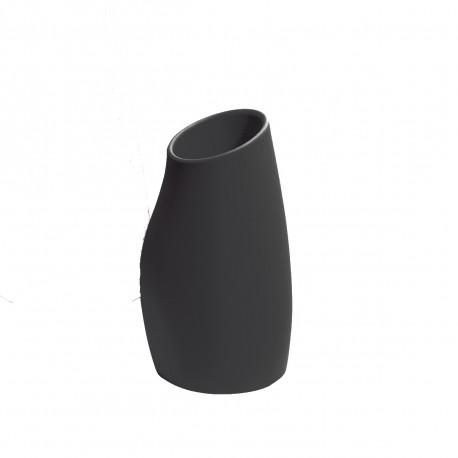 Pot Madame 60, Plust noir perlé