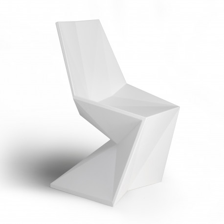Chaise design Vertex, Vondom blanc