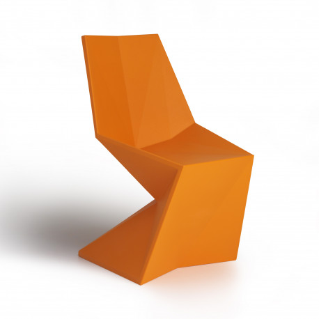 Chaise design Vertex, Vondom orange