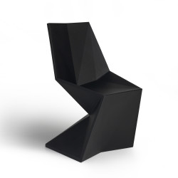 Chaise design Vertex, Vondom noir