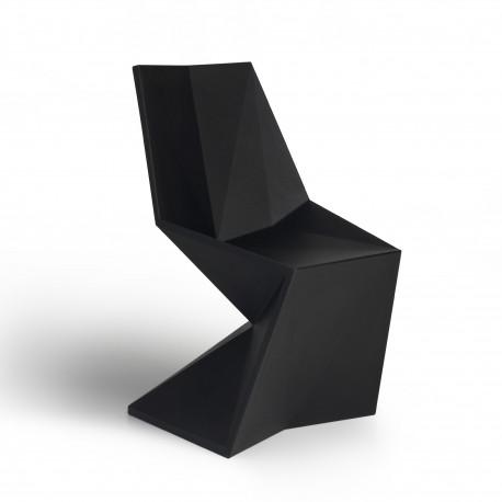 Chaise design Vertex, Vondom noir