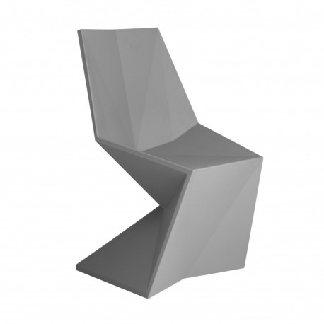Chaise design Vertex, Vondom gris