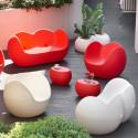 Table basse Blos low table, Slide Design, gris clair