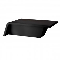 Table basse design Rest Sofa, Vondom noir mat