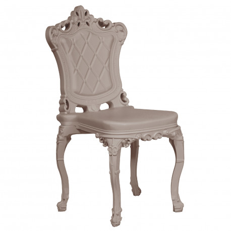 Chaise design Princess of Love, Design of Love by Slide, taupe