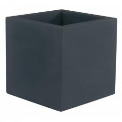 Pot Cubo 80 cm, double paroi, Vondom anthracite