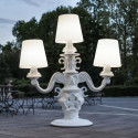 Lampadaire King of Love, Design of Love by Slide gris tourterelle