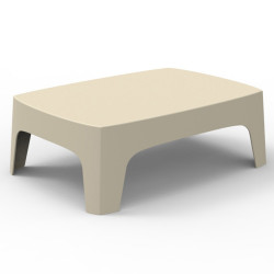 Table basse lounge Solid, Vondom blanc
