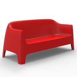Canapé Solid sofà, Vondom rouge