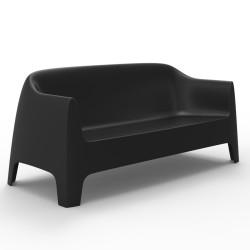 Canapé Solid sofa, Vondom noir