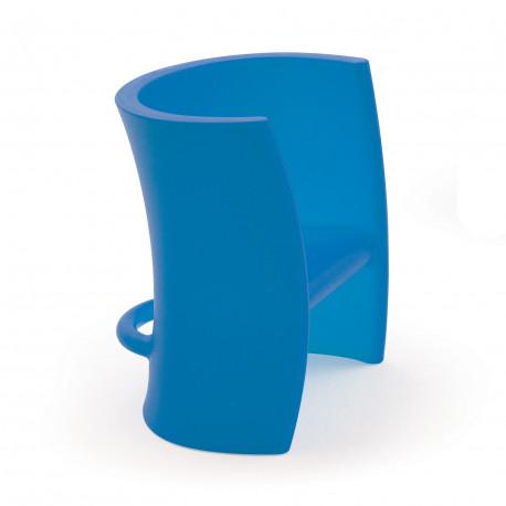 Fauteuil enfant et chaise à bascule Trioli, 2 en 1, Magis Me Too bleu