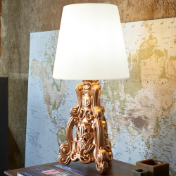 Lampe Lady of Love, Design of Love doré