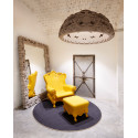 Fauteuil Trône Queen of Love, Design of Love by Slide orange