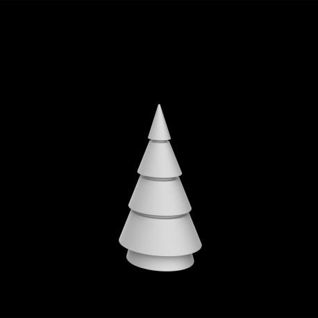 Sapin lumineux Forest Led blanc, intérieur extérieur, Vondom, Hauteur 100 cm