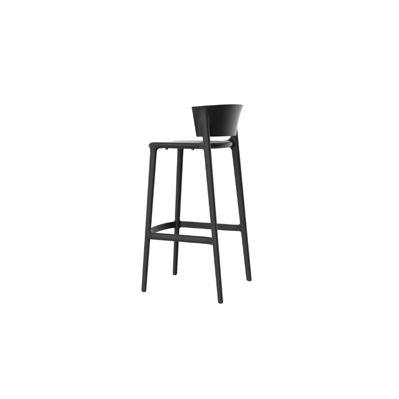 set de 4 tabourets de bar africa hauteur d 39 assise 76 cm. Black Bedroom Furniture Sets. Home Design Ideas