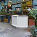 Module d'angle bar Dublin lumineux Led RGBW, MyYour