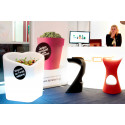 Pot design Mon amour, Slide design rouge