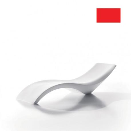 Chaise longue Cloe, MyYour rouge