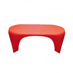 Table basse design Lily, MyYour rouge Mat