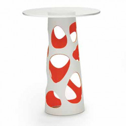 Table mange debout Liberty XL, MyYour rouge Diamètre 70 cm