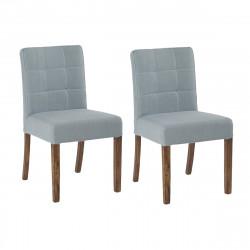 Lot de 2 chaises Kimi, Hanjel bleu