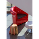 Table basse Pandoro, Slide Design, gris argile