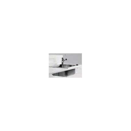 Evier inox 38x34cm pour Bar Baraonda, MyYour