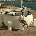 Module courbe Bar Design Fiesta, Vondom lumineux Leds blancs