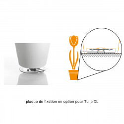 Lampadaire Tulip, MyYour blanc Taille XL