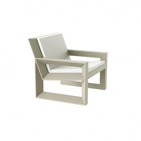 Lounge Frame Tissu ÉcruVondomAvec Silvertex En Extérieur Design Coussin Fauteuil Ibyv76gYf