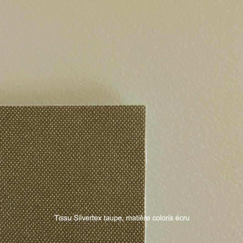 Module d\'angle 90° pour canapé angle exterieur Frame écru, Vondom, avec  coussins en tissu Silvertex