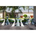 Mange debout Jet, Slide Design blanc D62xH100 cm