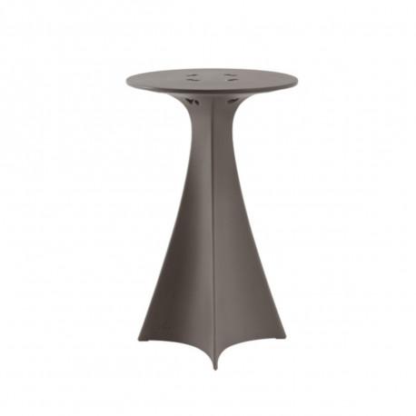 Mange debout Jet, Slide Design gris argile D62xH100 cm