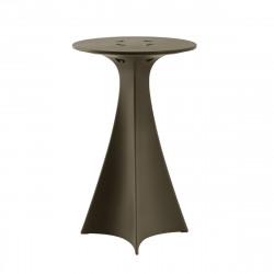 Mange debout Jet, Slide Design marron chocolat D62xH100 cm