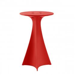 Mange debout Jet, Slide Design rouge D62xH100 cm