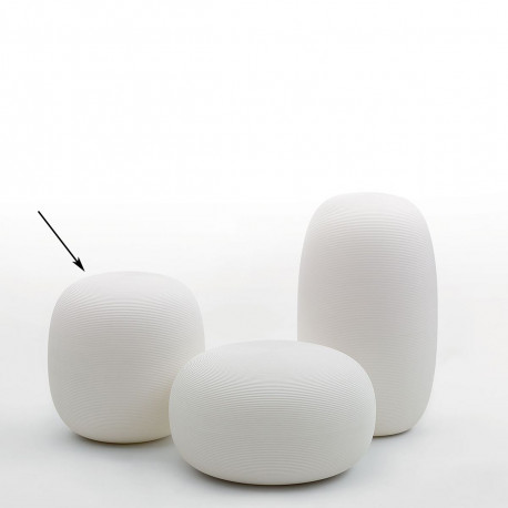 Tabouret Pandora, My Your blanc taille M