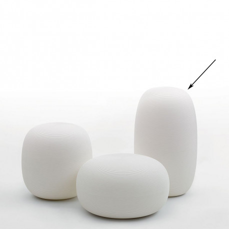 Tabouret Pandora, My Your blanc taille L